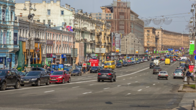 Photo of Мітинг на Хрещатику: центр Києва скували затори (ОНЛАЙН-КАРТА)
