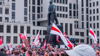 Photo of Колони спецтехніки та перші затримання: у Мінську розпочався Партизанський марш