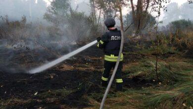 Photo of Детонують боєприпаси, а поруч електропідстанція: на Луганщині черговий підпал