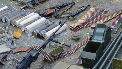 Photo of Понад 137 кг тротилу та 100 тис. боєприпасів: СБУ вилучили нелегальну зброю в ООС