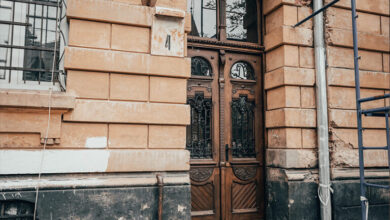 Photo of У будинку біля Стрийського парку відреставрували старовинну браму