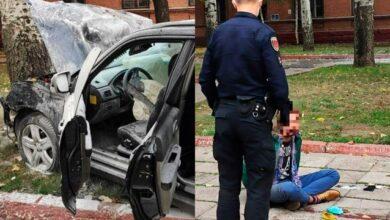 Photo of Я – Бог: в Одесі неадекватний водій протаранив авто поліції