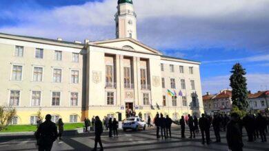 Photo of У Дрогобичі перевіряють повідомлення про замінування ратуші