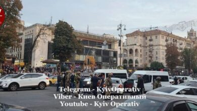 Photo of У центрі Києва спецпризначенці провели затримання з пострілами